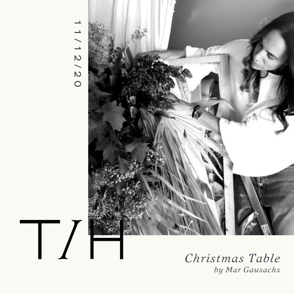 Evento Christmas Table Mar Gausachs