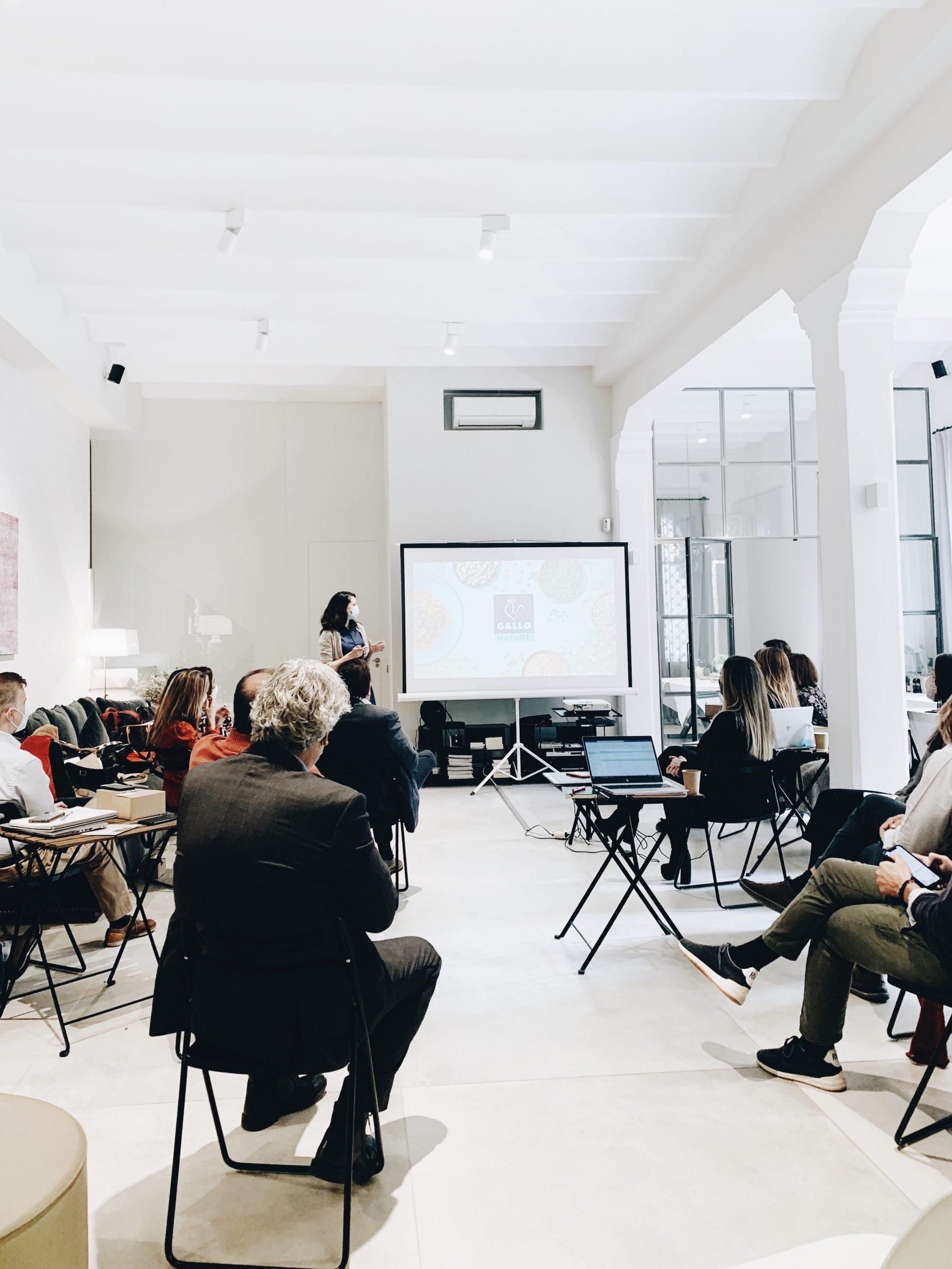 Pastas Gallo |Evento streaming en Barcelona The Inspiration House