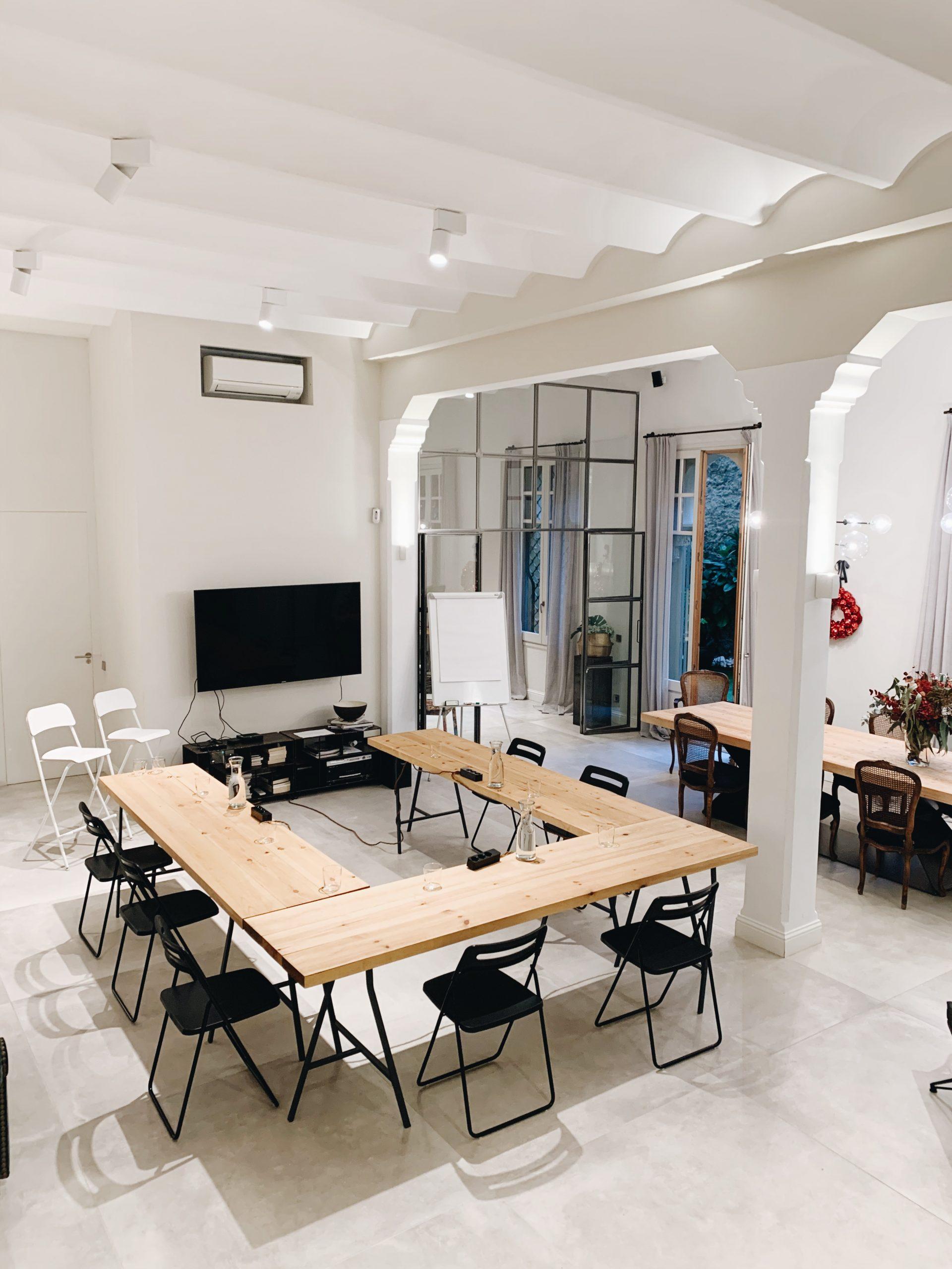 The Inspiration House cena empresa navidad Barcelona