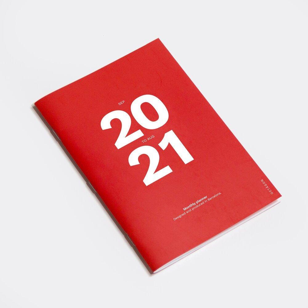 planificador 2020 a4 octagon design