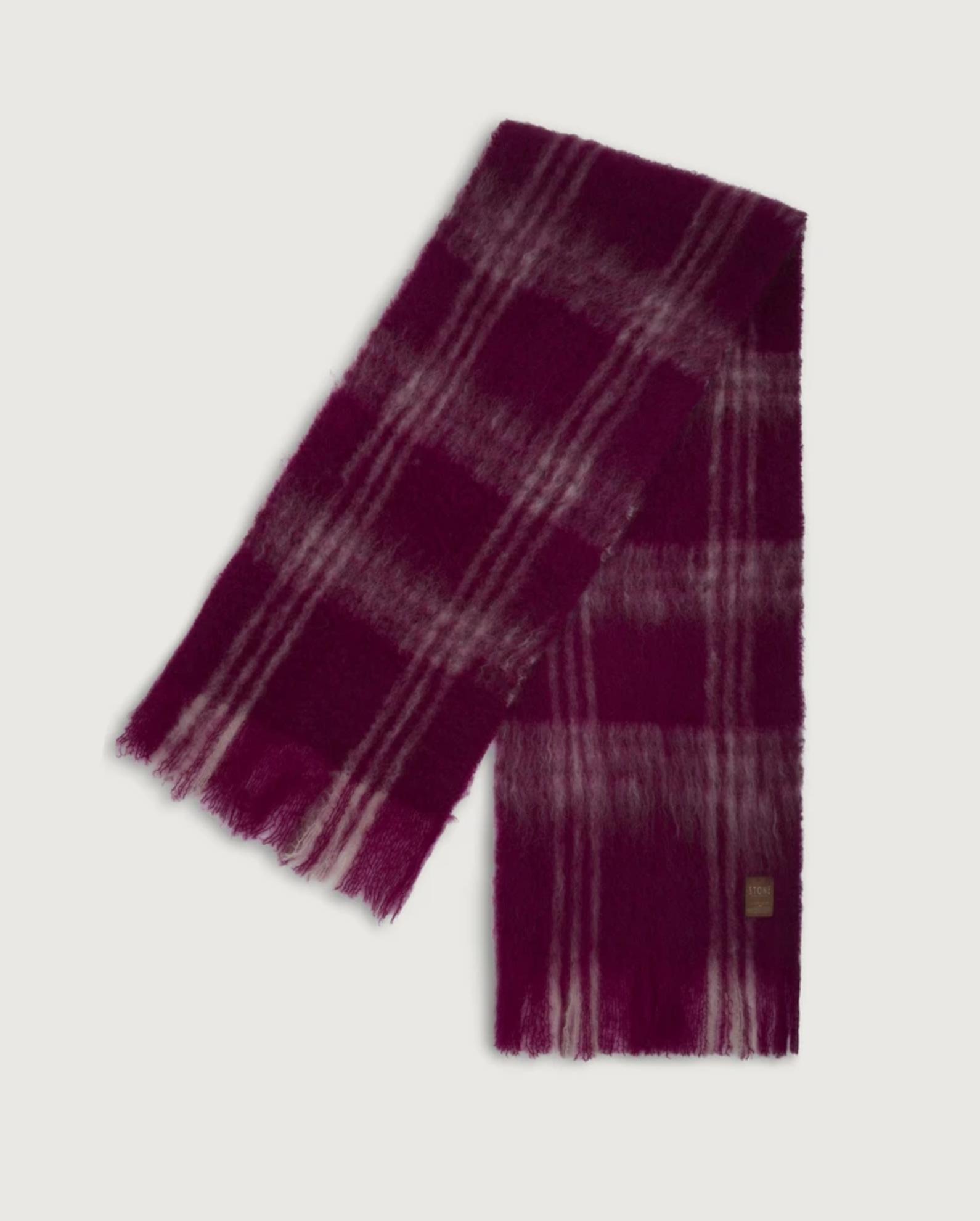 bufanda de lana stone barcelona marca local